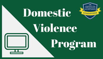 Online Court Classes Domestic Violence Programs